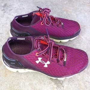Pink and Purple Women's Under Armour Gemini Shoes